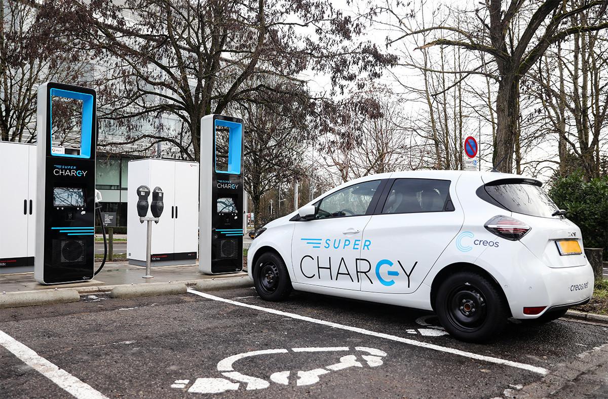 88 bornes de recharge ultra-rapide destinées aux voitures 100% électriques s ont prévues au Luxembourg d'ici 2023. (Photo:MEA / Sophie Margue)