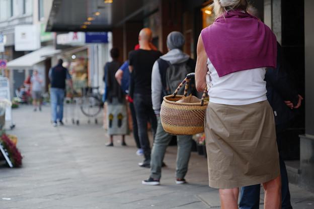 Les clients ont répondu présents à Luxembourg-ville, le week-end dernier. (Photo: Shutterstock)