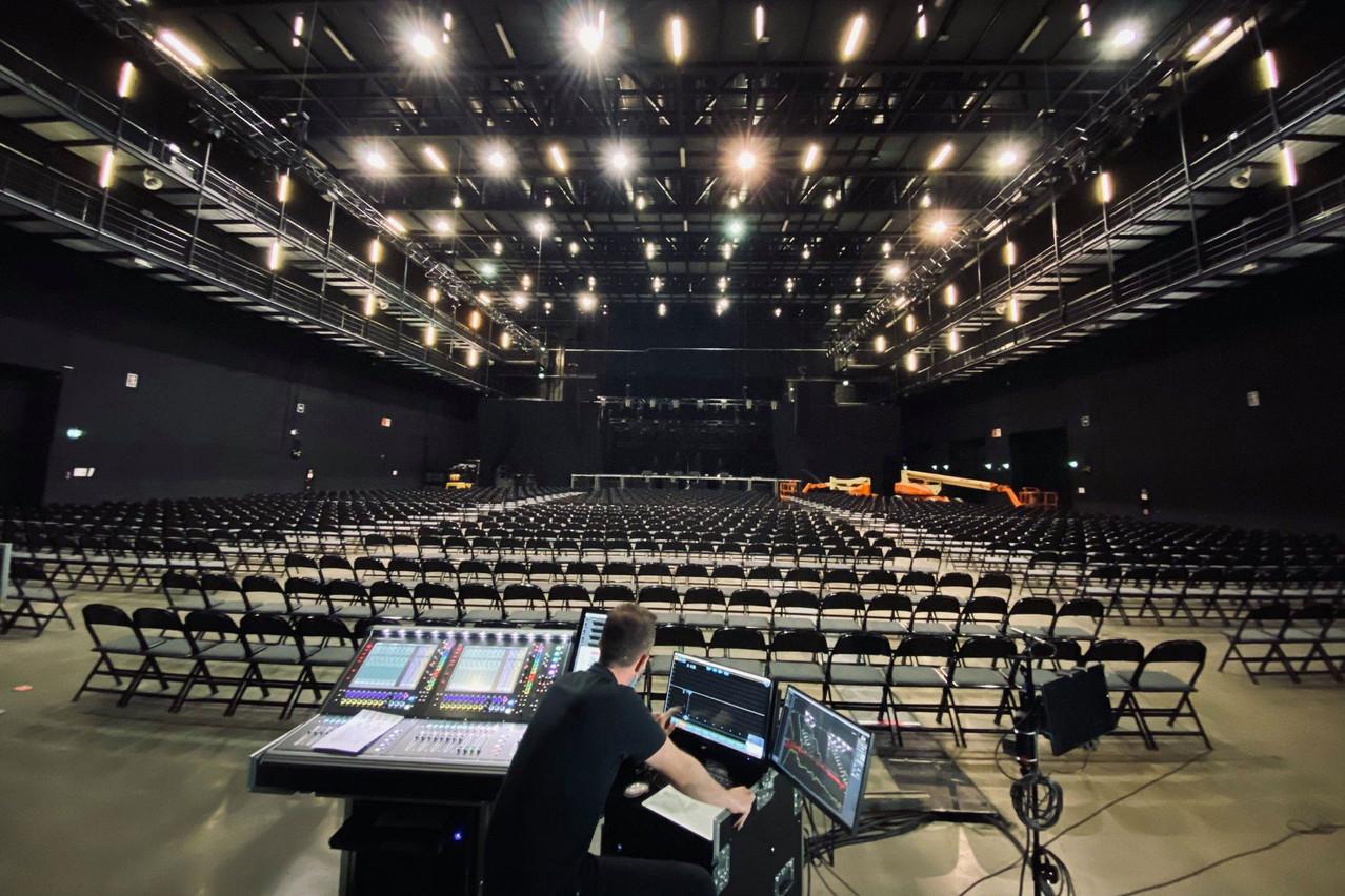La salle eschoise est prête, il ne manque plus que les spectateurs. (Photo: Rockhal/Facebook)