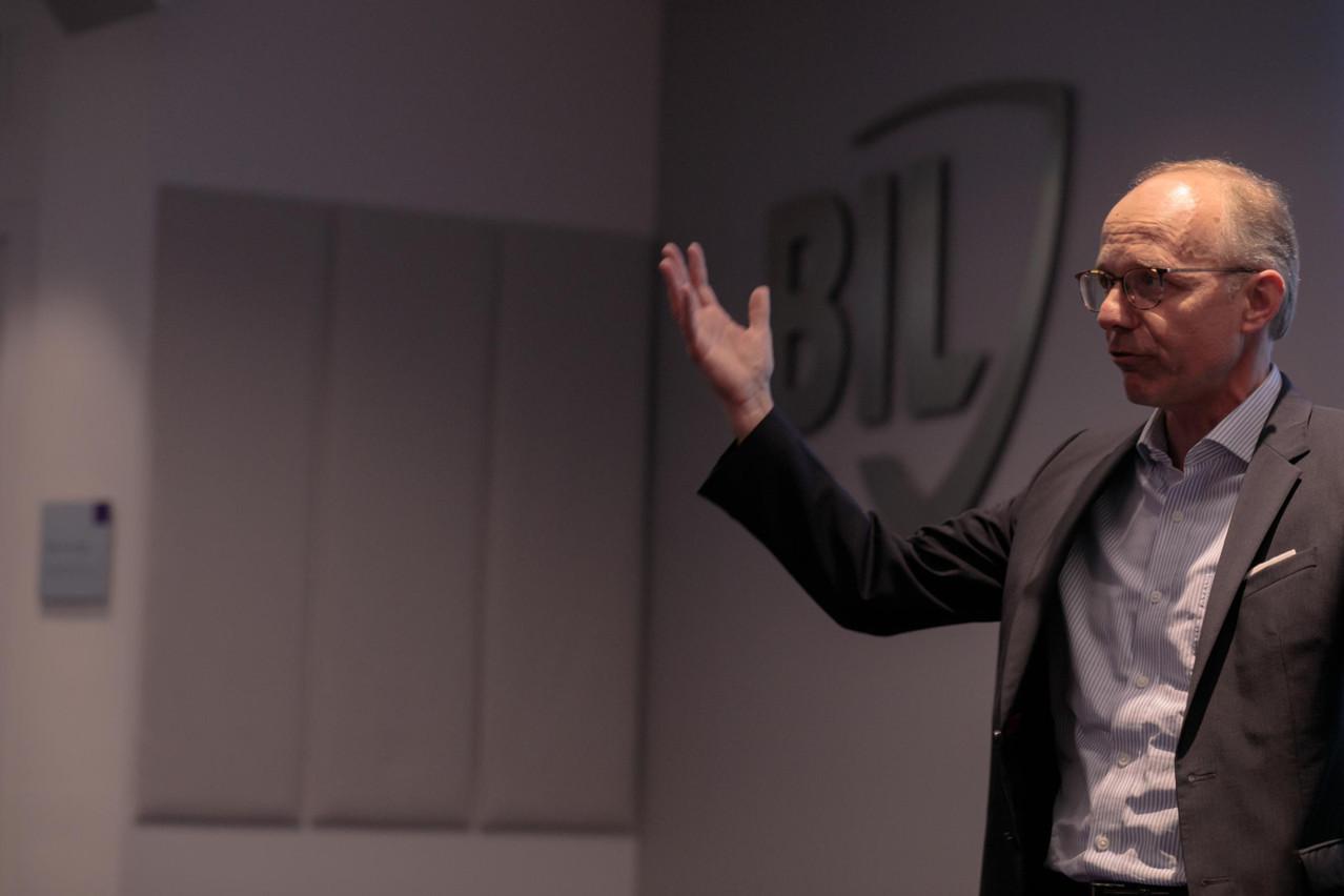 Luc Frieden, président du conseil d'administration de la Bil, insiste sur son rôle de coach. (Photo: Matic Zorman/archives)