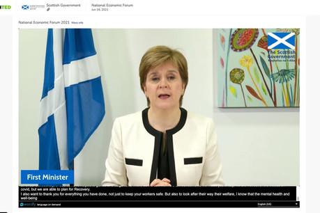 En un an, Boothted a séduit de nombreuses organisations, comme le Premier ministre écossais, Nicola Sturgeon, pour organiser son forum économique. (Photo: Boothted)