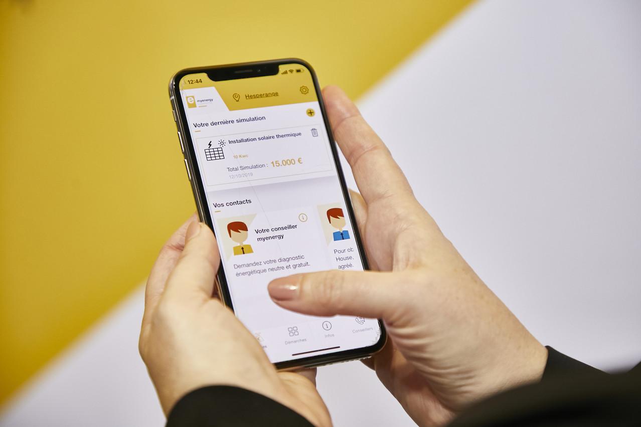 L'app myrenovation permet de récapituler toutes les aides disponibles pour les installations photovoltaïques. (Photo:myenergy – studion photography)