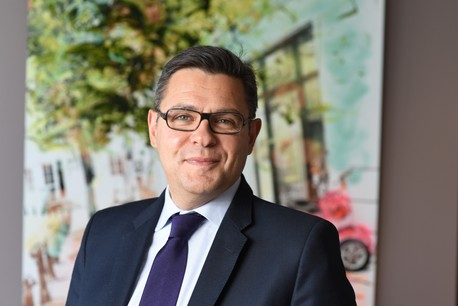 Stephen d'Errico, EY Global Corporate Law Leader . ( EY Luxembourg )