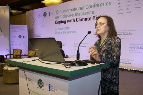 Katharine Pulvermacher ,directrice exécutive duMicroinsurance Network. (Photo:Microinsurance Network)