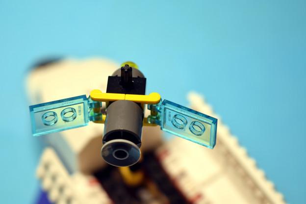 Au lieu de construire un satellite à usage unique, Spin propose un satellite modulaire où les éléments seraient imbriqués en fonction des besoins du client. Une révolution qu'Airbus va intégrer dans son catalogue. (Photo: Shutterstock)
