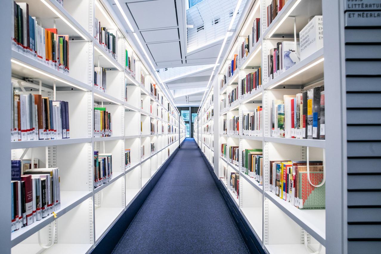 La BNL facilite l'accès à ses 620.000 e-books, 77.800 e-journaux et 390bases de données. (Photo: Edouard Olzewski/Archives Paperjam)