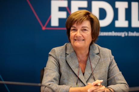 Michèle Detaille, présidente de la Fedil. (Photo: Matic Zorman / Archives)