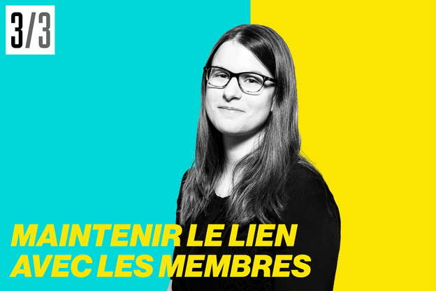 Emilie Bertoni, relationship manager du Paperjam Club. (Photo: Maison Moderne)