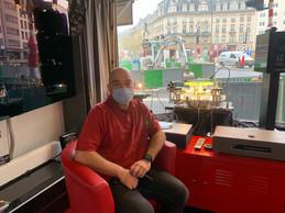 «Le tram nous amènera à nouveau de la circulation», espère Guy Foetz, du magasin L'Audiophile. ((Photo: Maison Moderne))
