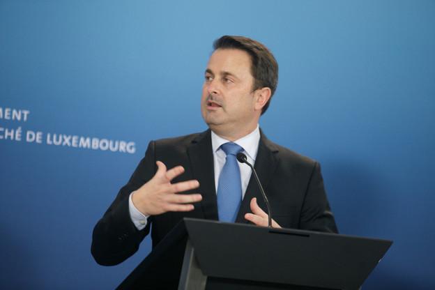 Il faut un coup de frein à main, a affirmé le Premier ministre Xavier Bettel. (Photo: Matic Zorman / Maison Moderne)