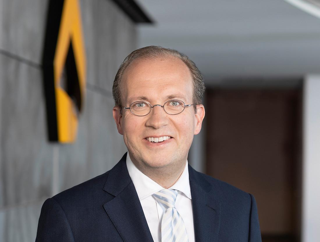 Commerzbank's Jörg Hessenmüller said on Thursday that the German lender would retain its own securities settlements business. Handout photo: Commerzbank AG/Alexandra Lechner Fotografie Frankfurt/M. Germany