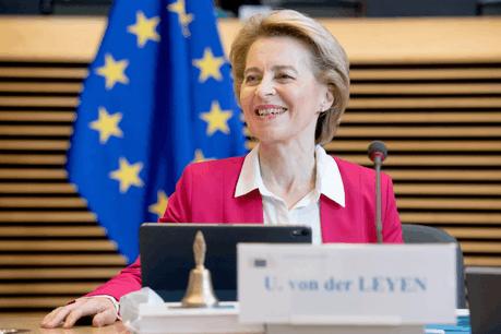 Ursula von der Leyen fait un pas historique en proposant la mutualisation de l'endettement de l'UE au profit des États les plus atteints par la crise sanitaire. (Photo: EU)