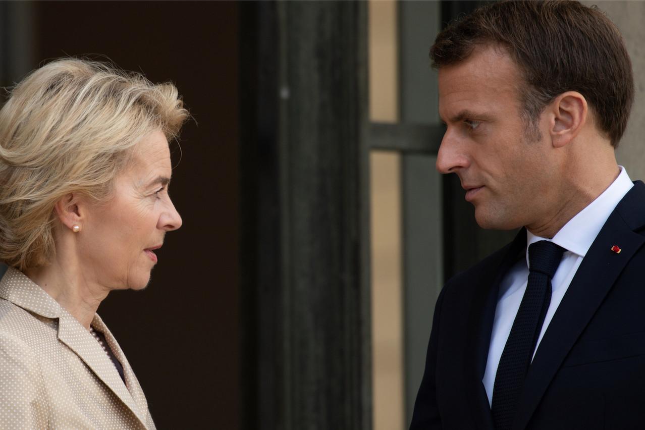 Le président français Emmanuel Macron doit trouver une candidature correspondant aux exigences de compétences et de parité chères à Mme von der Leyen tout en ayant une chance d'emporter l'assentiment des eurodéputés. (Photo: Shutterstock)
