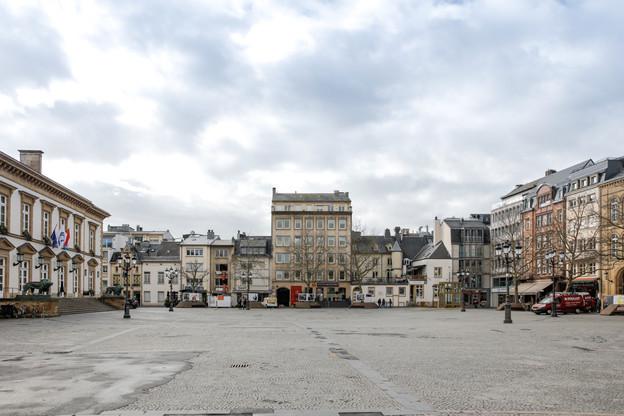De nombreuses communes ont décidé d'exprimer leur solidarité à l'égard des commerçants locaux. (Photo: Romain Gamba/Maison Moderne)