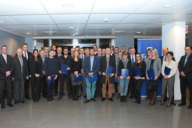 33 nouveaux agents ont rejoint le groupe Foyer. (Photo: Foyer)