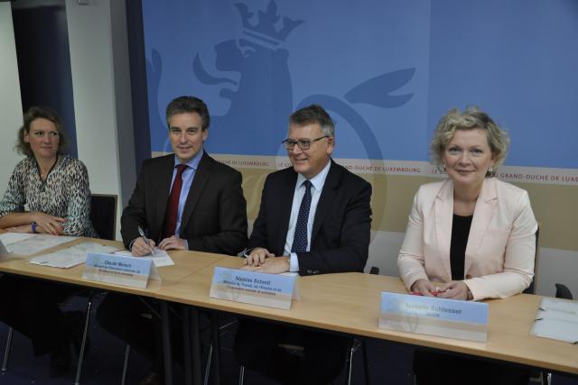 L'accord vise à renforcer la collaboration en formation professionnelle mais aussi continue au sein de la Grande Région. (Photo: ministère du Travail et de l'Emploi)