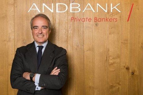 San Salvador will leave his position of CEO in the Andbank subsidiary in Luxembourg to concentrate on his new activity. (Photo: Andbank)