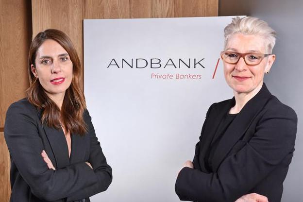 Isabela Pérez Nivela, conseillère indépendante d'Andbank Wealth Management España, et Dagmar Valcárcel, présidente du conseil d'administration d'Andbank Asset Management Luxembourg. (Photo: Andbank)