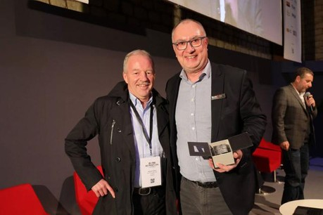 Patrick Bernard et Philippe Mauduit. (Photos: BCE)