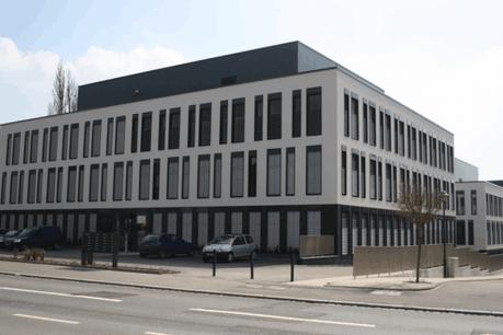 BPI Real Estate Luxembourg a développé en 2010 sur le terrain voisin le premier Immeuble HQE (haute-qualité environnementale) à Luxembourg. (Photo: Google maps)