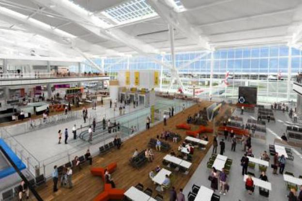 Zone de départ du Terminal 5. (Photo: British Airways)