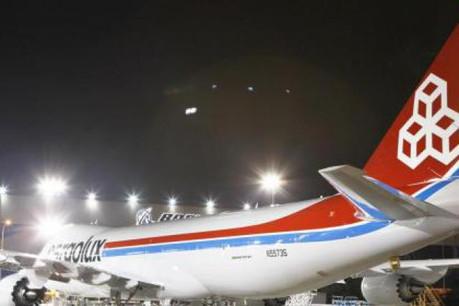 Launch customer Cargolux has 13 Boeing 747-8 Freighter airplanes on firm order.  (Photo: Cargolux/Christian Aschmann)