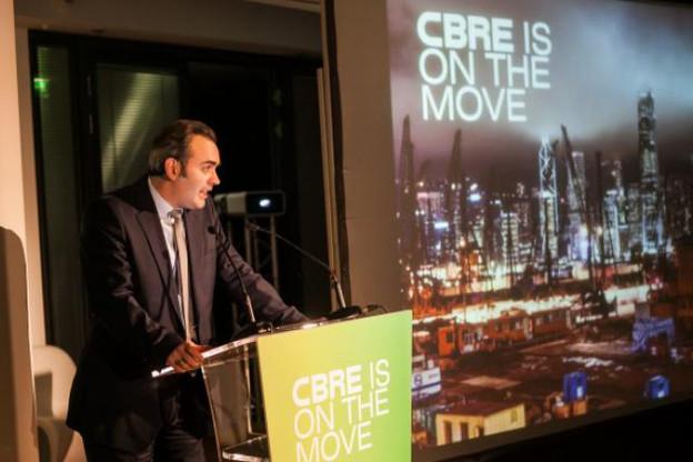 Laurent Correman, managing director de CBRE. (Photo : CBRE)