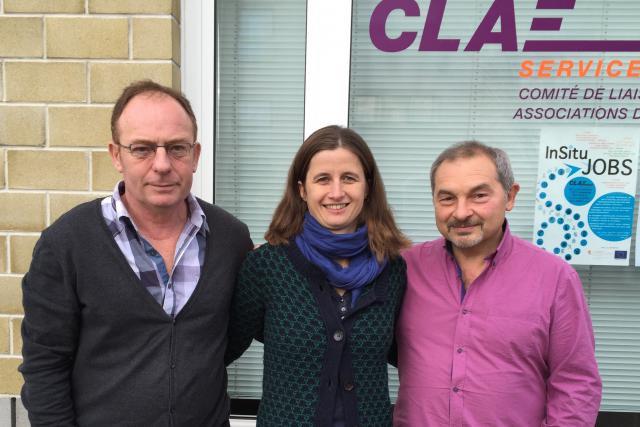 Jean Philippe Ruiz, Anita Helpiquet et Franco Barilozzi. (Photo: CLAE)
