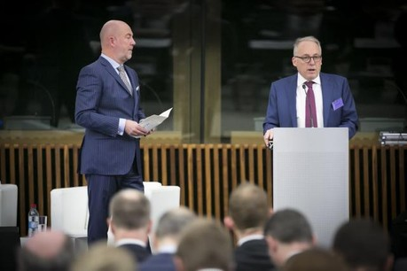 Lou Kiesch, partner Deloitte Luxembourg and Jacques Elvinger, partner Elvinger Hoss Prussen (Photo: Deloitte)