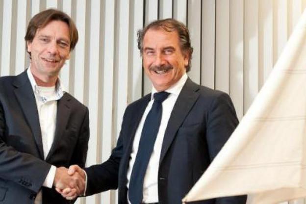Just Gonggrijp, country manager Commvault Benelux et Bart van Rheenen, managing director Arrow ECS Benelux. (Photo : Arrow ECS)