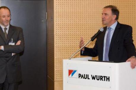 Marc Solvi (directeur général Paul Wurth S.A.) et Serge Toussaint (chef de service Civil Construction). (Photo: Paul Wurth)