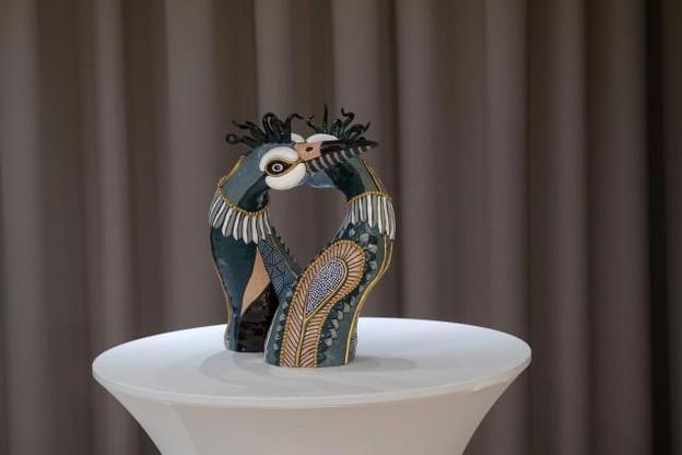 Lea Schroeder, designer spécialisée en accessoires de luxe, a fait des débuts en dessinant pour la maison Lancel à Paris. (Photo: Eric Chenal)