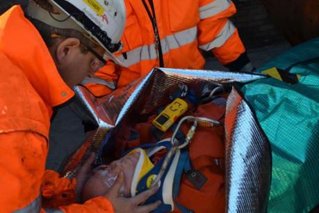 ArcelorMittal s'engage à agir de manière responsable à l'égard de la santé, de la sécurité et du bien-être de son personnel. (Photo: ArcelorMittal)