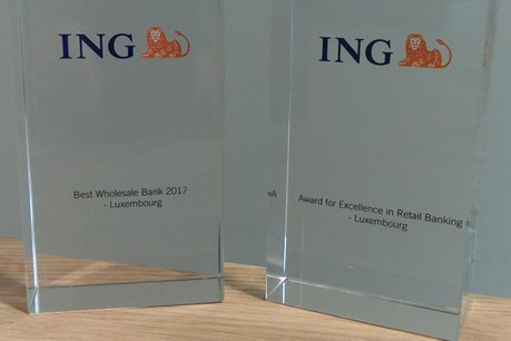 L'activité Wholesale Banking d'ING a été récompensée pour la troisième fois, après avoir été distinguée en 2014 et 2015. (Photo: ING)