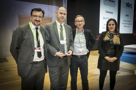 EBRC won the «Best cloud transformation methods» for the second consecutive year. (Photo: Maison Moderne)