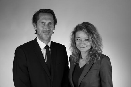 Pascal Meier et Lindsay Sarah Jones  (Photo: Edouard Franklin)