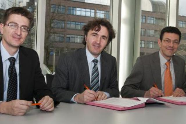 Laurent Magi, Jean-Luc Santinelli et Pierre Wolff (Photo : Enovos)