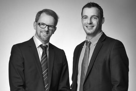 David Bisenius et Bastien Dorey (Photo: Editpress)