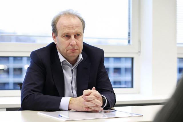 Yves Bouvier (Photo: Olivier Minaire)