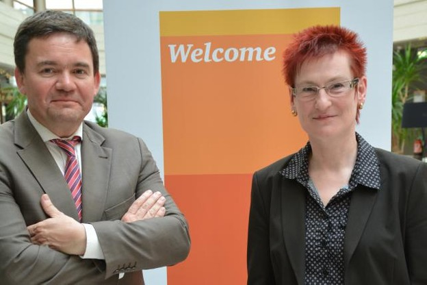 Pierre Kirsch, directeur chez PwC Luxembourg, et Kerstin Thinnes, associée chez PwC Luxembourg. (Photo: PwC Luxembourg)