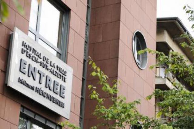 Le centre hospitalier Émile Mayrisch, à Esch/Alzette ( Photo : David Laurent / Wide / archives )