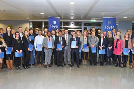 Nomination de 47 nouveaux agents Foyer. (Photo: Foyer Group)