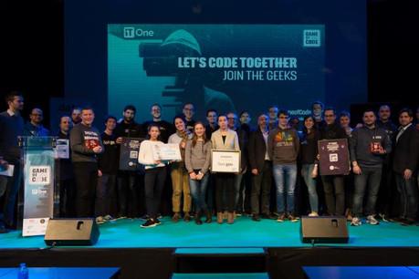 La troisième édition du Hackathon «Game of Code» a eu lieu au Forum Geesseknäppchen les 17 et 18 mars. (Photo: Game of Code)