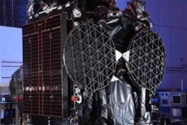 GovSat-1 will serve Europe, the Middle East and Africa, including substantial maritime coverage over the Mediterranean and Baltic seas, and the Atlantic and Indian Oceans. (Photo: Orbital ATK)