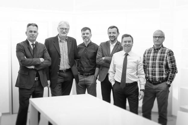 De gauche à droite, Alain Ierace, Bob Hochmuth, David Bail, Dan Dechmann, Luc Bolsius, Didier Prudhomme. (Photo: IDP)