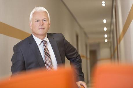 Pierre Knoden occupe les fonctions de «directeur des Ressources humaines» depuis le 1er février 2015, suite au départ de Nicolas Rasson pour ING Belgique. (Photo: Luc Deflorenne / archives)