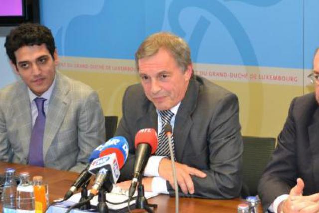 Gevork Sarkisyan, Jeannot Krecké et François Biltgen (Photo : MECE)