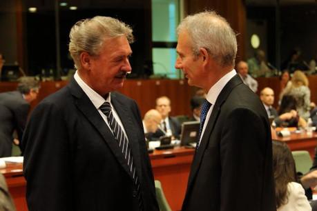 Jean Asselborn, ministre des Affaires étrangères et européennes ; David Lidington, ministre adjoint au ministère des affaires étrangères et du Commonwealth du Royaume-Uni. (Photo: MAEE)