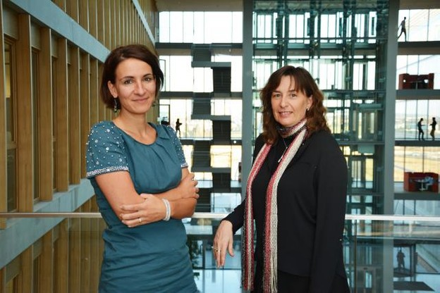Bénédicte Burioni, directrice People and Change et Roxane Filippa, senior manager People and Change (Photo: PwC Luxembourg)