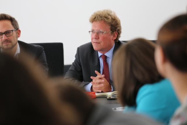 Professor Dr. Dr. h.c. Burkhard Hess  (Photo: Max Planck Institute Luxembourg)